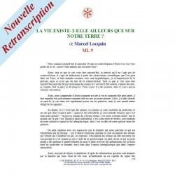 ML 9 - LA VIE EXISTE-T-ELLE AILLEURS QUE SUR NOTRE TERRE...