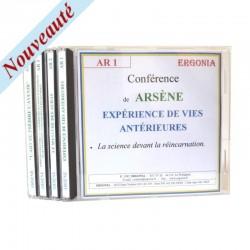 Pack spécial - ARSÈNE - Vies antérieures - Auras -...