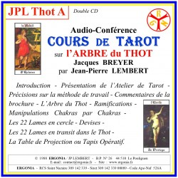 Cours de Tarot « l'Arbre du Thot » (0/22) - Introduction...